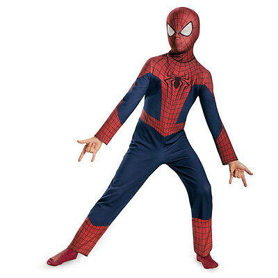 The Amazing Spider-Man 2 Classic Child Costume New 2014 Movie Disguise73027