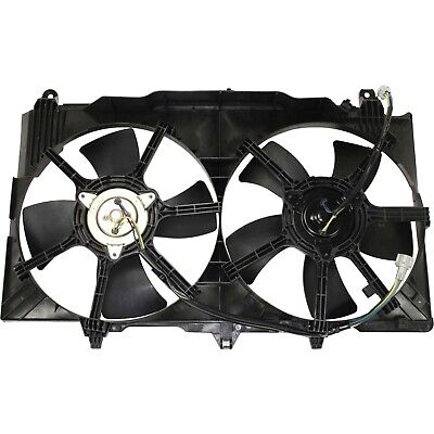 Radiator Cooling Fan For 03-05 Infiniti G35 2003-2006 Nissan 350Z 2-Door Coupe