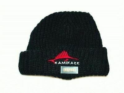 Kamikaze Black Beanie with Built In LED Light