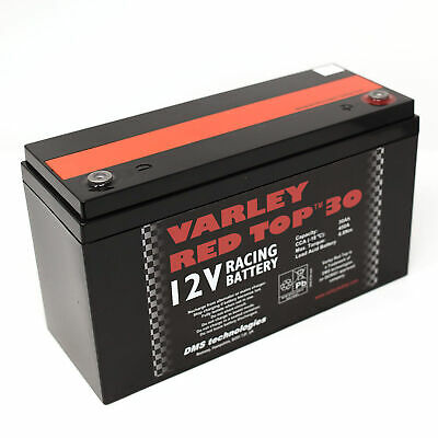 Varley Red Top 30 Battery - Racing/Oval/Rally/Motorsport/Dry Cell/Lightweight