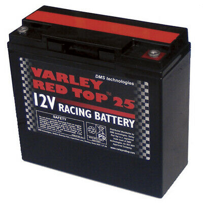 Varley Red Top 25 Battery - Racing/Oval/Rally/Motorsport/Dry Cell/Lightweight
