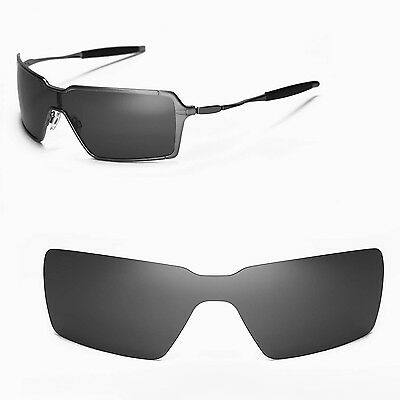 476beb8a93 New WL Polarized Black Replacement Lenses For Oakley Probation Sunglasses