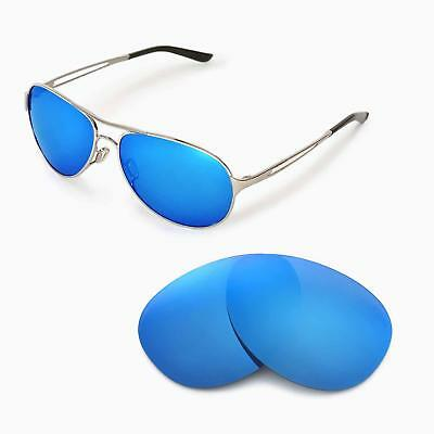 New Walleva Polarized Ice Blue Replacement Lenses For Oakley Caveat Sunglasses