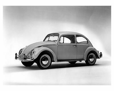 1966 Volkswagen Beetle Automobile Photo Poster zca0433