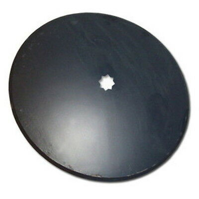 "Universal Fit 18"" Plain Disc Blade 3.5mm x 1"" or 1-1/8"" Square Double Punch Hole"
