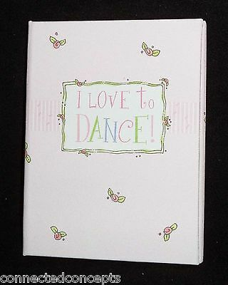 Penny Laine I Love to Dance Ballet Jazz Trifold Keepsake Frame (TF4) NEW!