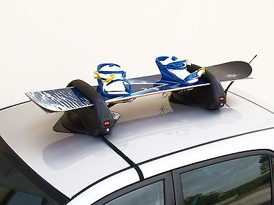 Aconcagua Magnetic Ski carrier lockable 2 Snowboards oder 3 Pairs Ski