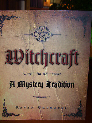 Brand New! Witchcraft A Mystery Tradition Wicca Myth Legend Lore Sabbats Goddess
