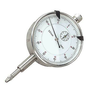 Sealey Dial Gauge Indicator -10mm Travel Metric With Interchangeable Foot AK961M