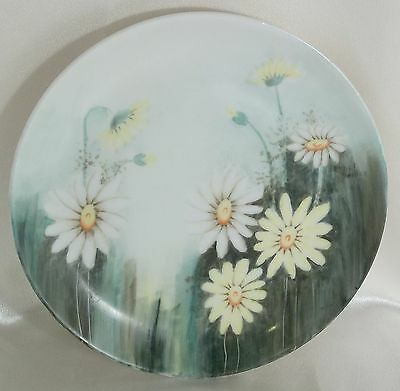 Hand Painted Daisies JHR Hutschenreuther Selb Bavaria Germany Plate