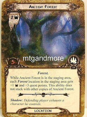 Lord of the Rings LCG  - 1x Ancient Forest  #050 - The Voice of Isengard