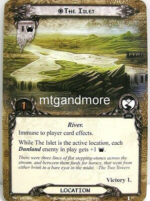 Lord of the Rings LCG  - 1x The Islet  #017 - The Voice of Isengard