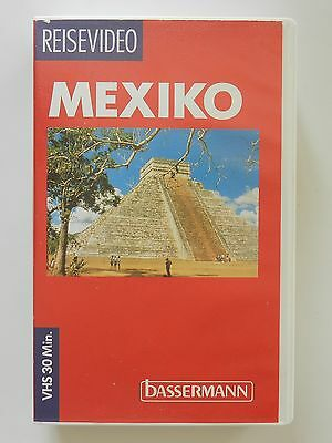 VHS Video Reisevideo Mexiko Bassermann