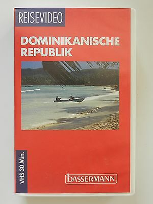 VHS Video Reisevideo Dominikanische Republik Bassermann
