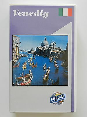 VHS Video Reisevideo Venedig Worldwide