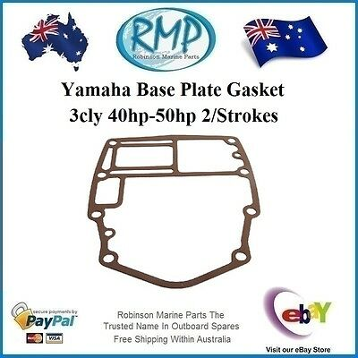 A Brand New Yamaha Base Plate Gasket 3cly 40hp-50hp 2/Strokes # 6H4-45113-A0
