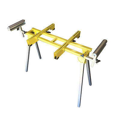 """Foldable Miter Saw Stand with 40"""" long Material Support - T5000"""