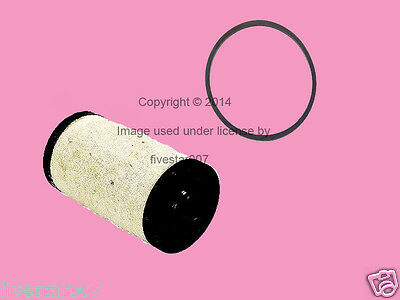 MAHLE Main Fuel Filter Strainer Screen w/ Washer Rubber Ring Seal_for Mercedes_
