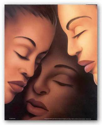 AFRICAN AMERICAN ART PRINT Sisters Keith Mallett
