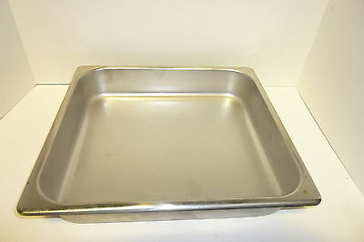 Steam Table Pan 2/3 Size 2'' New Heavy Duty Stainless Steel