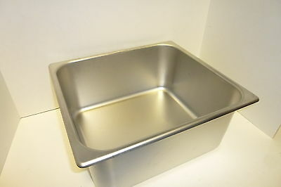 Steam Table Pan 2/3 Size 6'' New
