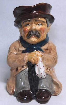 Nursery Rhyme Toby Jug Poor Man By Roy Kirkham Staffordshire