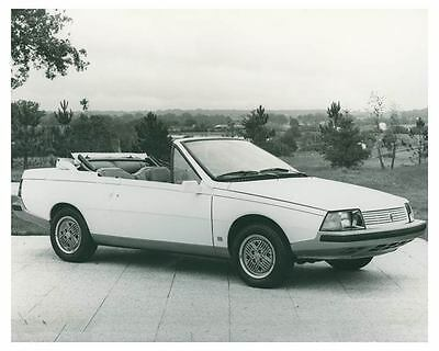 1983 Renault Fuego USA Cabriolet Heuliez Automobile Factory Photo ch4320