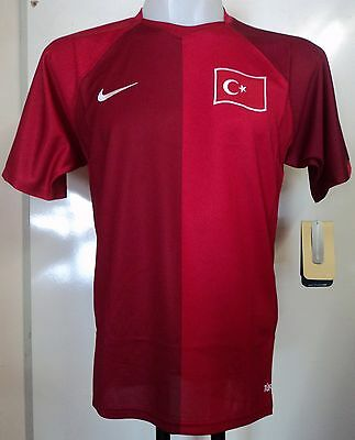 Turkey Football 2007/08 Home Shirt By Nike Size Small Brand New With Tags