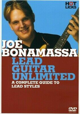 Joe Bonamassa: Lead Guitar Unlimited (2012, REGION 1 DVD New)