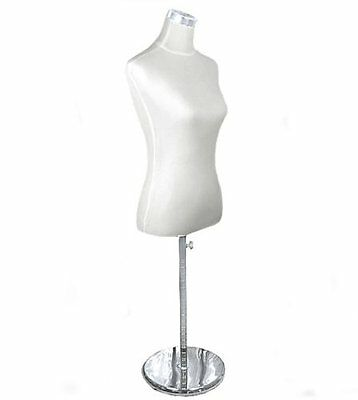 new White  female Tailors bust retail display dummy mannequin