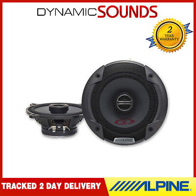 "Alpine SPG-13C2 13cm 5.25"" 2-way Coaxial Car Speaker System 200W Front/Rear Door"