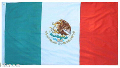 MEXICO FLAG 5FT X 3FT  (Special offer from Klicnow)