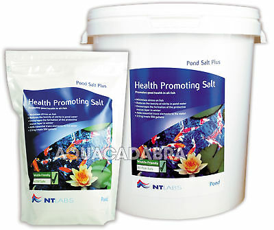 Nt Labs Pond Salt 2.5Kg 9Kg Plus Health Promoting Aids Disease Garden Fish Pond