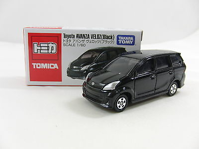 Tomica vehicles Toyota Avanza Veloz (Black) , Tomy Diecast Car , 1/60