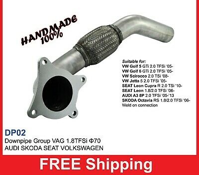Exhaust Front Downpipe turbo VW Group VW  5 1.8TFSi Turbo (DPO2)