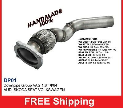 Exhaust Front Downpipe turbo VW Group VW series 41.8TT Turbo  (DPO1)