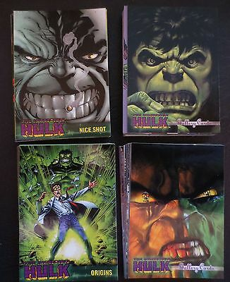 2003 MARVEL INCREDIBLE HULK COMPLETE COMIC TRADING CARD SET