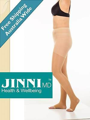 Compression Pantyhose Stockings By Jinni MD NEW
