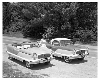 1961 Nash Metropolitan Convertible and Hardtop Factory Photo uc6162