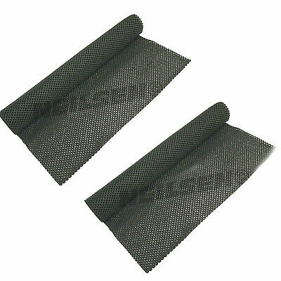 2 X Neilsen Grip Mat None Slip Carpet Worktops Tool Box Roll Cab Crafts 23d