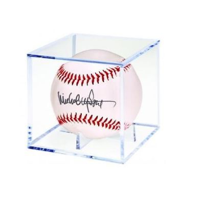 Lot of (10) ~ Ultra Pro Baseball Square Cube Ball Case Holders ~ New!