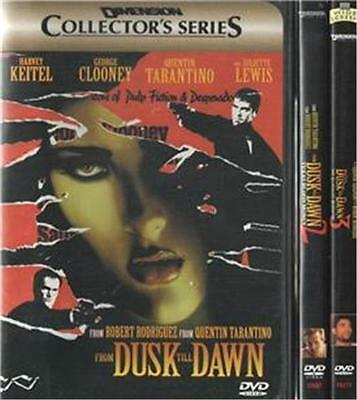 From Dusk Till Dawn 1 2 3 DVD DVD's Movies Widescreen WS L865742-11SE