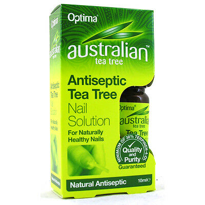 Optima Australian Antiseptic Tea Tree Nail Solution 10ml