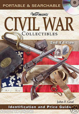 NEW! Warman's Civil War Collectibles Identification and Price Guide [CD]