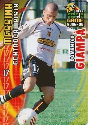 N°106 Domenico Giampa # Italia Fc.messina Card Panini Calcio 2006