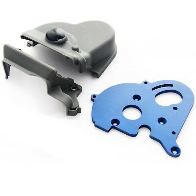 Traxxas E-Maxx Brushless * ANODIZED ALUMINUM MOTOR MOUNT PLATE & GEAR COVER *