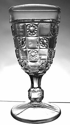 EAPG - Bellaire Goblet Co. - Block & Jewel - cordial
