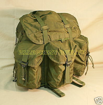 GENUINE US Military OD Green ALICE PACK ONLY Field Combat Backpack MEDIUM GC