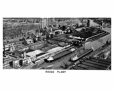 1953 Ford Rouge Plant Automobile Photo Poster zub4717