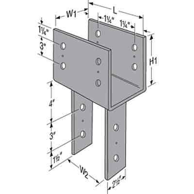 Simpson Strong-Tie CC44 Column Cap 4x Beam 4x Post